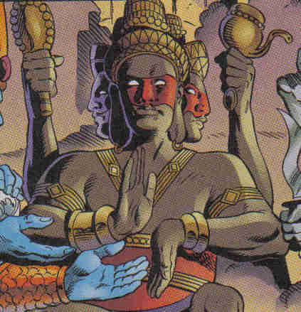 Array - brahma  new earth    dc database   fandom powered by wikia  rh   dc wikia com