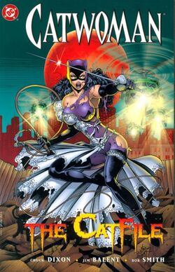 Cover for the Catwoman: The Catfile Trade Paperback
