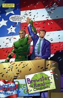 Green Arrow endorses Davis Brewster for president