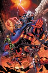Darkseid vs. the Wonders of the World