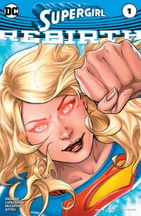 Supergirl Rebirth Vol 1 1