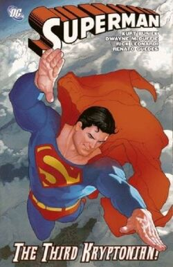 Cover for the Superman: The Third Kryptonian Trade Paperback