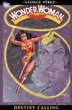 Cover for the Wonder Woman: Destiny Calling Trade Paperback