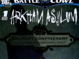 Battle for the Cowl: Arkham Asylum Vol 1 1