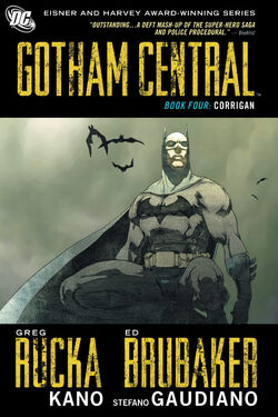 Cover for the Gotham Central Book Four: Corrigan Trade Paperback