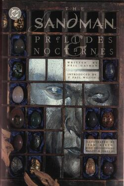 Cover for the Sandman: Preludes and Nocturnes Trade Paperback