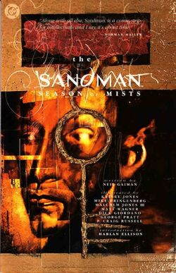 Cover for the Sandman: Season of Mists Trade Paperback