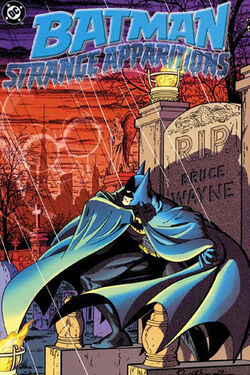 Cover for the Batman: Strange Apparitions Trade Paperback