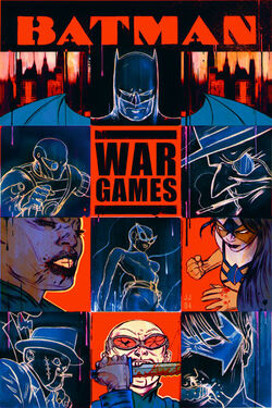 Cover for the Batman: War Games, Act One - Outbreak Trade Paperback