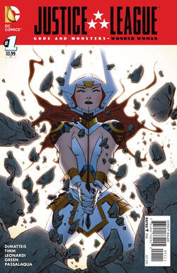 Justice League Gods and Monsters Wonder Woman Vol 1 1