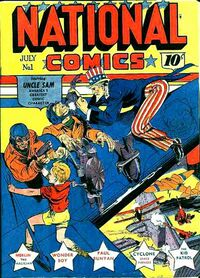 National Comics Vol 1 1
