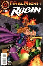 Robin and Spoiler kiss