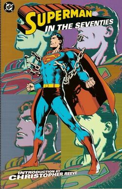 Cover for the Superman in the Seventies Trade Paperback