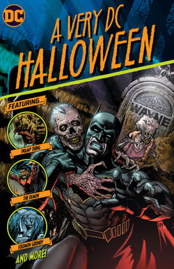 Cover for the A Very DC Halloween Trade Paperback