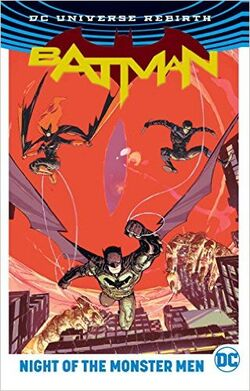 Cover for the Batman: Night of the Monster Men Trade Paperback