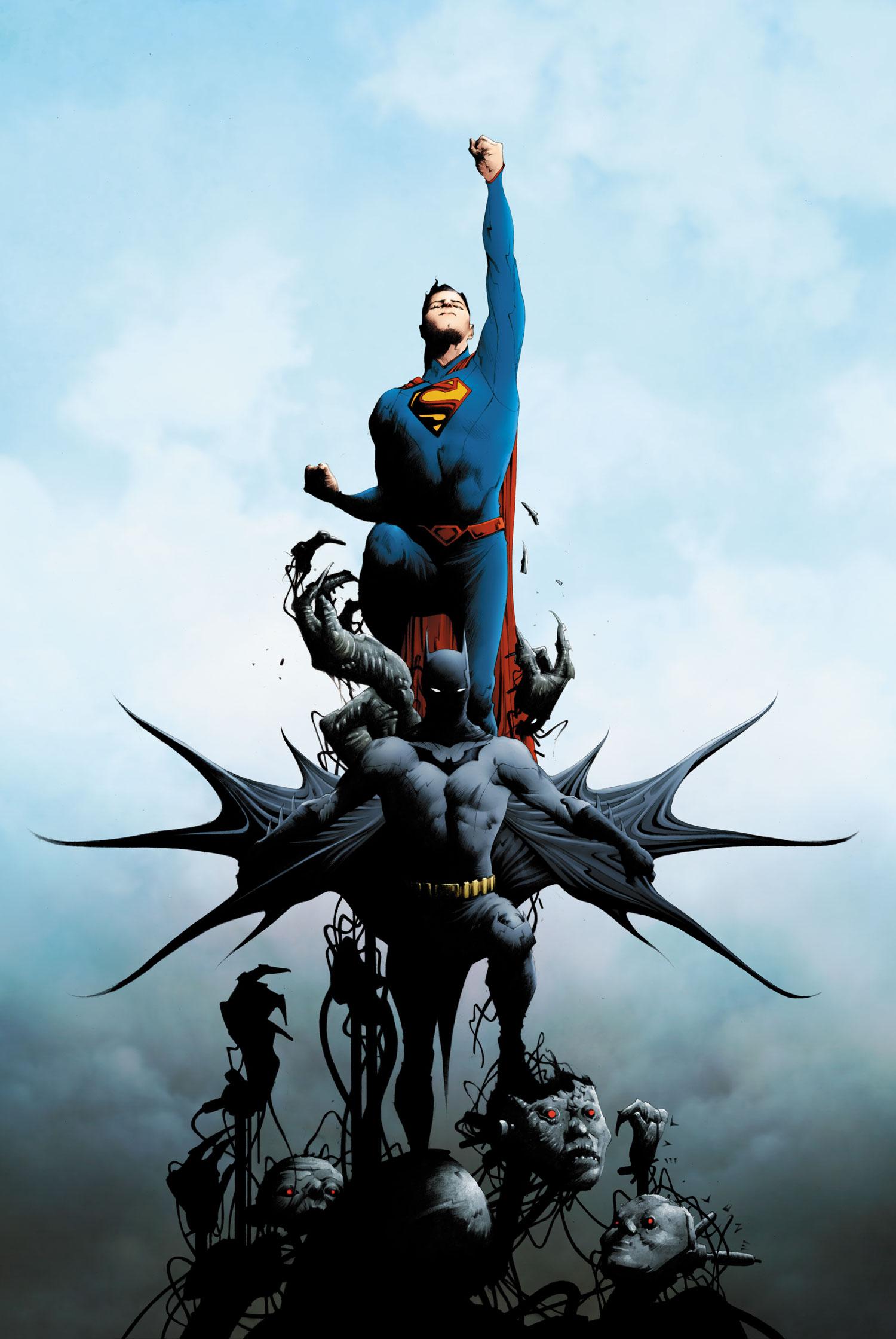 Batman Superman Vol 1 Textless