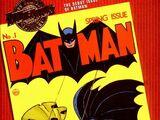 Millennium Edition: Batman Vol 1 1