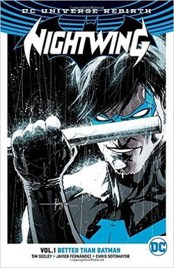 Cover for the Nightwing: Better Than Batman Trade Paperback