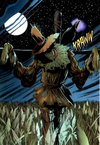 I am The Scarecrow! The master of... well; you know what I'm the master of.