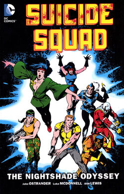 Cover for the Suicide Squad: The Nightshade Odyssey Trade Paperback