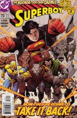 Superboy rallies his forces to take on the Agenda.