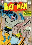 The Batman Creature from Batman #162 (1964)