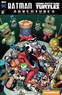 Batman Teenage Mutant Ninja Turtles Adventures Vol 1 2