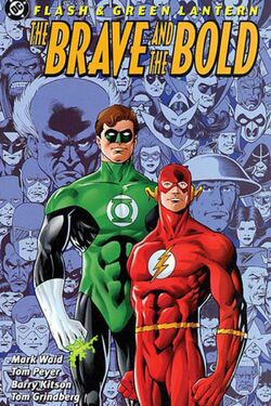 Cover for the Flash & Green Lantern: The Brave and the Bold Trade Paperback