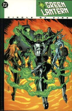 Cover for the Green Lantern: Circle of Fire Trade Paperback