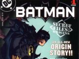 Batman Secret Files and Origins Vol 1 1
