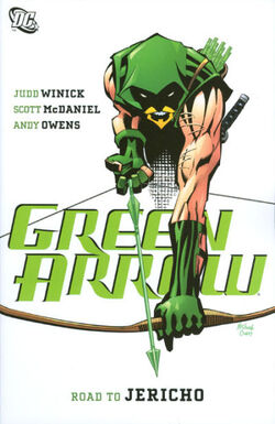Cover for the Green Arrow: Road to Jericho Trade Paperback