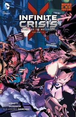Cover for the Infinite Crisis: Fight for the Multiverse Vol. 1 Trade Paperback