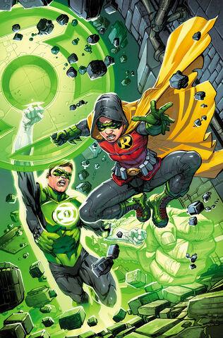 File:Robin Son of Batman Vol 1 4 Textless Green Lantern 75th Anniversary Variant.jpg