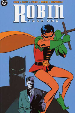 Cover for the Robin: Year One Trade Paperback