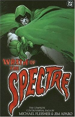 Cover for the Wrath of the Spectre Trade Paperback