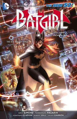 Cover for the Batgirl: Deadline Trade Paperback