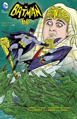 Cover for the Batman '66 Vol. 2 Trade Paperback