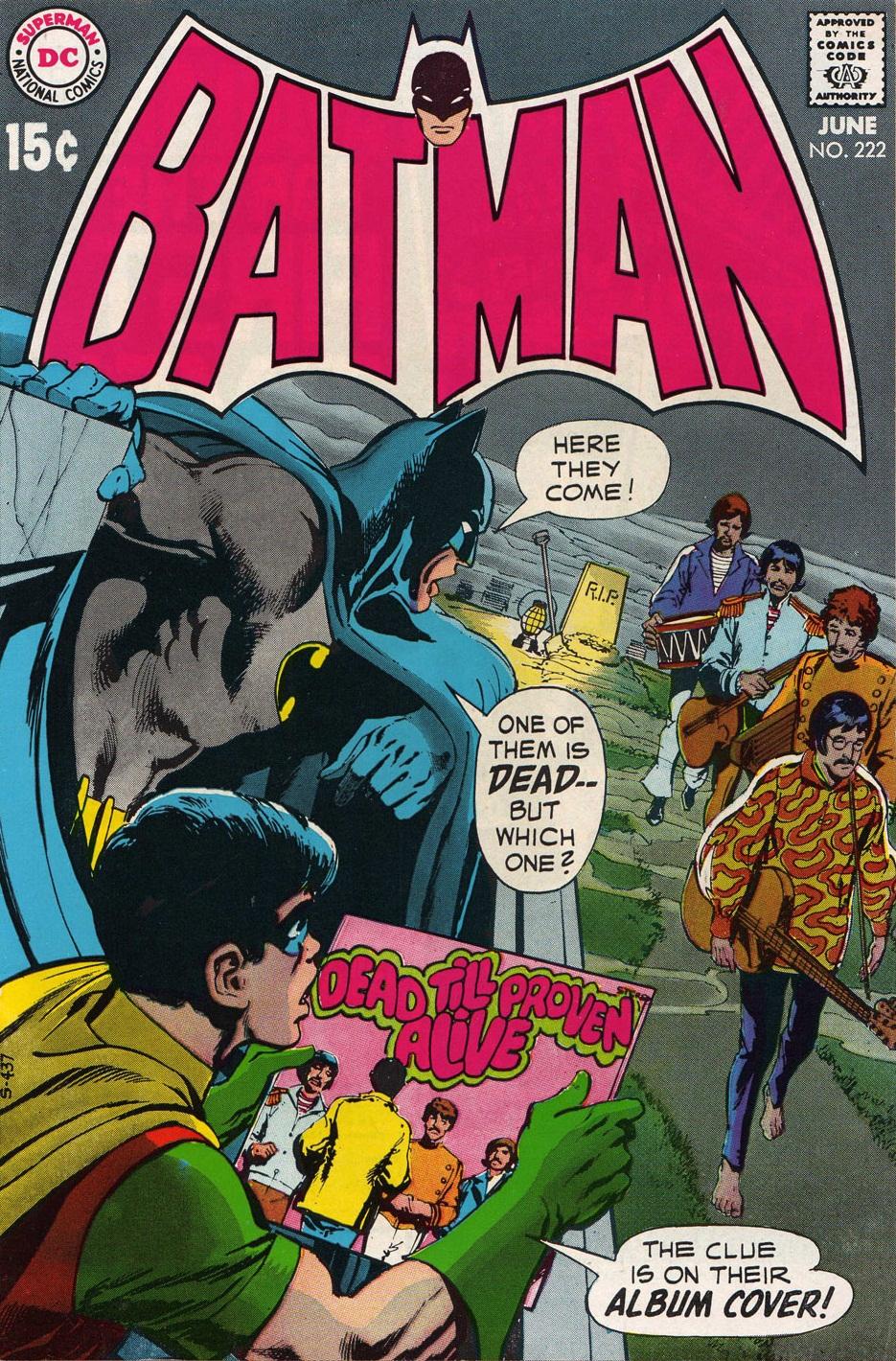 Image result for beatles comic batman