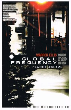 Cover for the Global Frequency: Planet Ablaze Trade Paperback