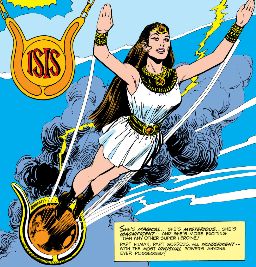 Image result for isis superhero animated