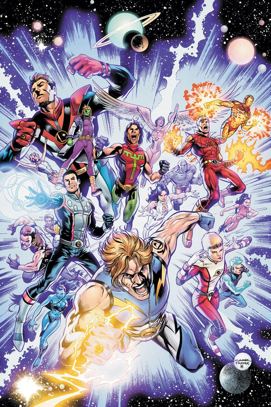 Legion of Super Heroes Pre Zero Hour DC Database