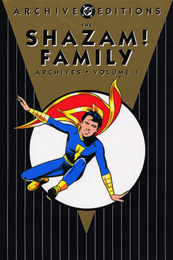 Cover for the The Shazam! Family Archives Vol. 1 Trade Paperback