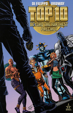 Cover for the Top 10: Beyond the Farthest Precinct Trade Paperback