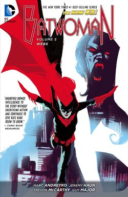 Cover for the Batwoman: Webs Trade Paperback