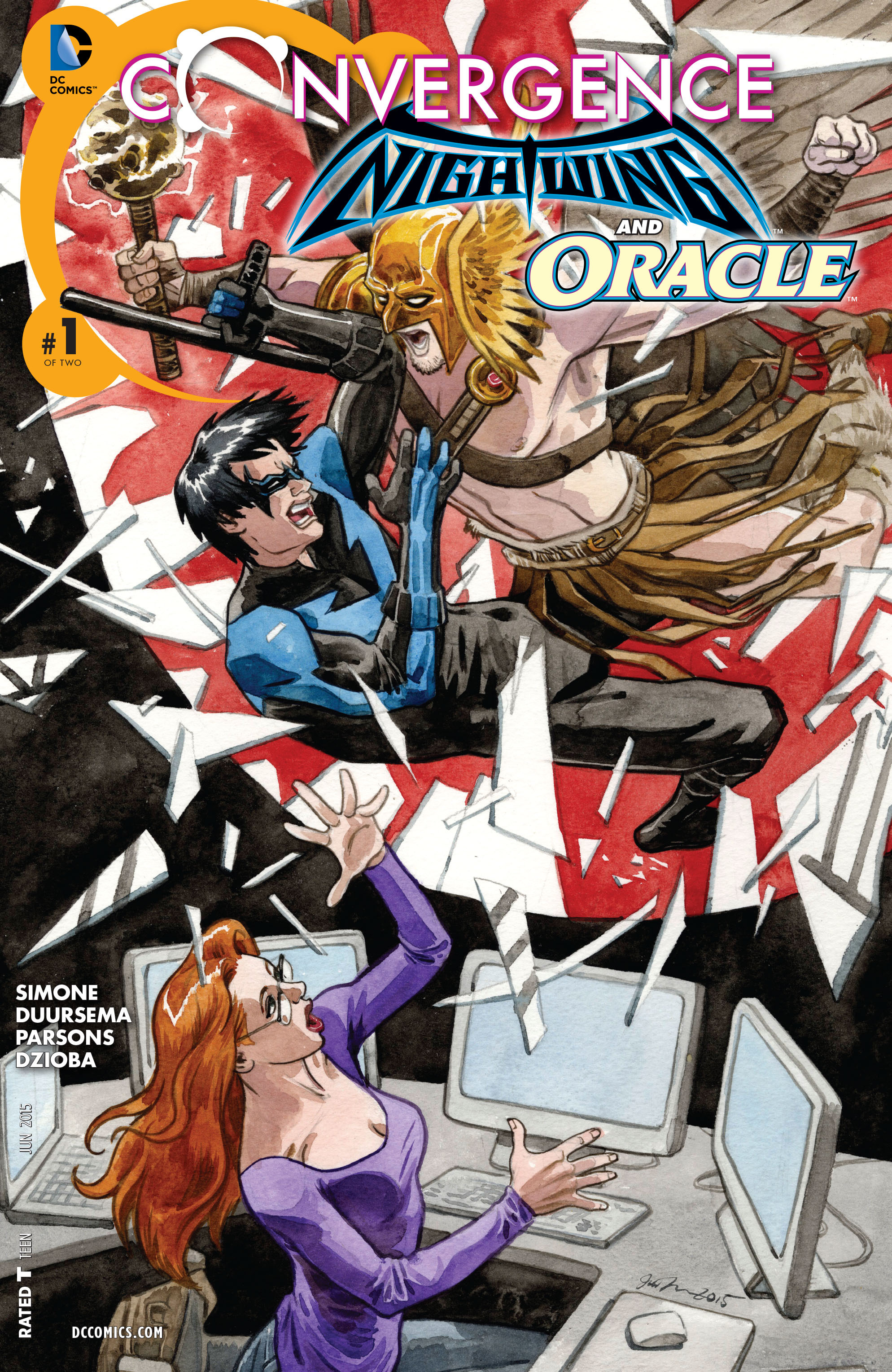 Convergence Nightwing Oracle Vol 1