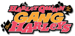 Harley Quinn and Her Gang of Harleys (2016) logo