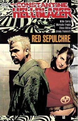 Cover for the Hellblazer: Red Sepulchre Trade Paperback