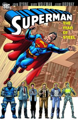 Cover for the Superman: The Man of Steel Vol. 2 Trade Paperback