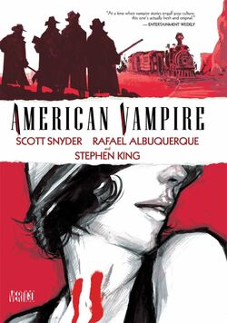 Cover for the American Vampire: Vol. 1 Trade Paperback