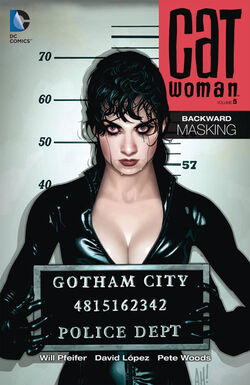 Cover for the Catwoman: Backward Masking Trade Paperback
